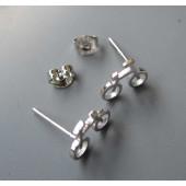 Boucles d'oreilles mini vélo