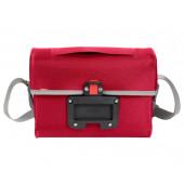 Sacoche avant étanche Vaude Aqua Box rouge, fixation klickfix sur guidon