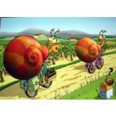 Carte postale véloscargot