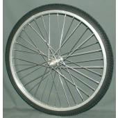 Roue AV 20 pouces avec pneu plein POLYAIR 20x1.75