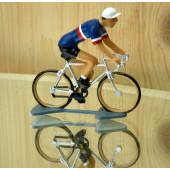 Figurine cycliste : maillot français