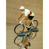 Figurine cycliste : maillot allemand