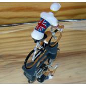 Figurine cycliste : maillot anglais
