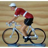 Figurine cycliste : maillot danois