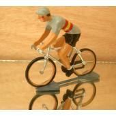Figurine cycliste : maillot espagnol