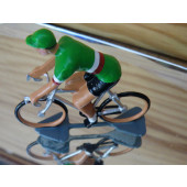 Figurine cycliste : maillot italien