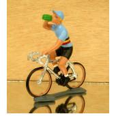Figurine cycliste : maillot de Belgique à la gourde