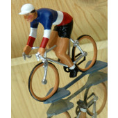 Figurine cycliste : champion de France