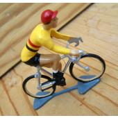 Figurine cycliste : champion de Belgique