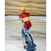 Figurine cycliste : champion d'Espagne