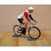 Figurine cycliste : champion de Hollande