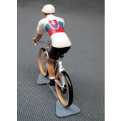 Figurine cycliste : maillot de Slovaquie