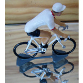 Figurine cycliste : maillot ouest-Bretagne