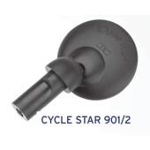 Rétroviseur BUSCH&MULLER Cycle star 901/2, fixation en embout de guidon, diamètre 60mm