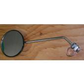 Rétroviseur BUSCH&MULLER Cyclo chromé, fixation sur cintre, diamètre 90mm