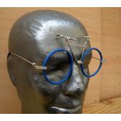 Vélo lunettes bleues guidon VTT