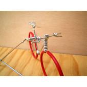 Vélo lunettes rouges guidon VTT