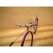 Vélo lunettes lavandes guidon VTT