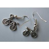 Boucles d'oreilles petit vélo