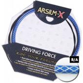 Kit transmission Arsium-X dérailleur bleu-argent