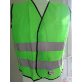 Gilet de signalisation vert: XS