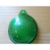 Cache de couleur verte pour phare de vélo vintage