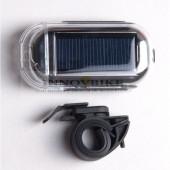 Projecteur avant solaire OWLEYE métal, fixation sur guidon