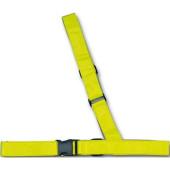 Bandoulière vélo Réfléchissante jaune