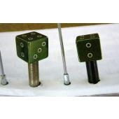 Bouchon de valve en forme de dé vert