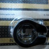 Collier tige de selle BMX d25.4 mm noir alu