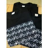 T-shirt noir coton bio S