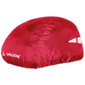 Couvre casque Vaude rouge avec bande réfléchissante