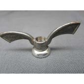 Boulons papillon vintage sur axe de roue, marque Sova