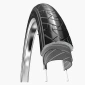 700x35C Hartex Urban Ride Gumwall Reflex Anti-Crevaison 3mm Noir Tringle Rigide - ETRTO 37-622