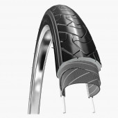 700x38C Hartex Urban Ride Gumwall Reflex Anti-Crevaison 3mm Noir Tringle Rigide - ETRTO 40-622