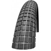 20x1.85 Schwalbe CRAZY BOB noir tringle rigide HS356 - ETRTO 47-406