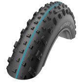 Pneumatique Fat Bike Schwalbe JUMBO JIM Snakeskin TubelessEasy SpeedGrip - 26x4.40 - Tringle souple - ETRTO 100-559