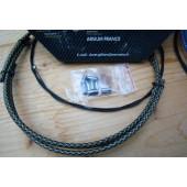 Kit transmission Arsium-X dérailleur noir-argent