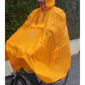 Poncho cape de pluie Valdipino mango orange Vaude M