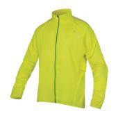 Coupe vent Endura Pakajak jaune néon, taille S