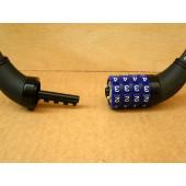 Antivol cable à code, 60cm