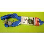 Antivol chaine à clé, Point, 65cm, bleu