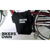 Protection du moteur pour VAE: BikersOwn Case4rain Bosch Active Line Noir