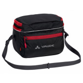 Sacoche avant Vaude Road I black/red, fixation klickfix sur guidon