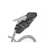 Bikepacking sacoche Ibera waterproof carryall noire, 6L.