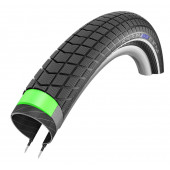 20x2.15 - Pneu Schwalbe HS439 BIG BEN PLUS Green Guard  - ETRTO 55-406 - Tringle Rigide