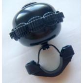 Sonnette ou timbre rotatif noir