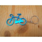 Porte clé vélo bleu clair