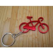 Porte clé vélo rouge