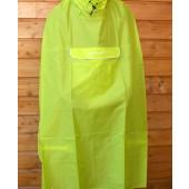 Poncho cape de pluie Valdipino lemon jaune fluo Vaude XXL